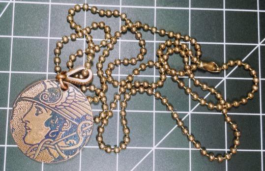 A pendant for Hermes