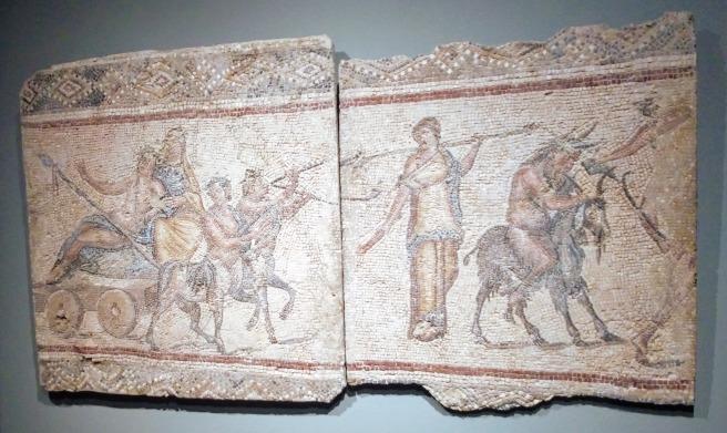 A Dionysian procession.